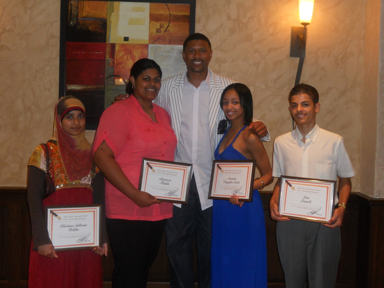 Meet the JRCF 2010 Scholarship Winners